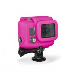 SILICONE COVER PINK GOPRO HERO3+
