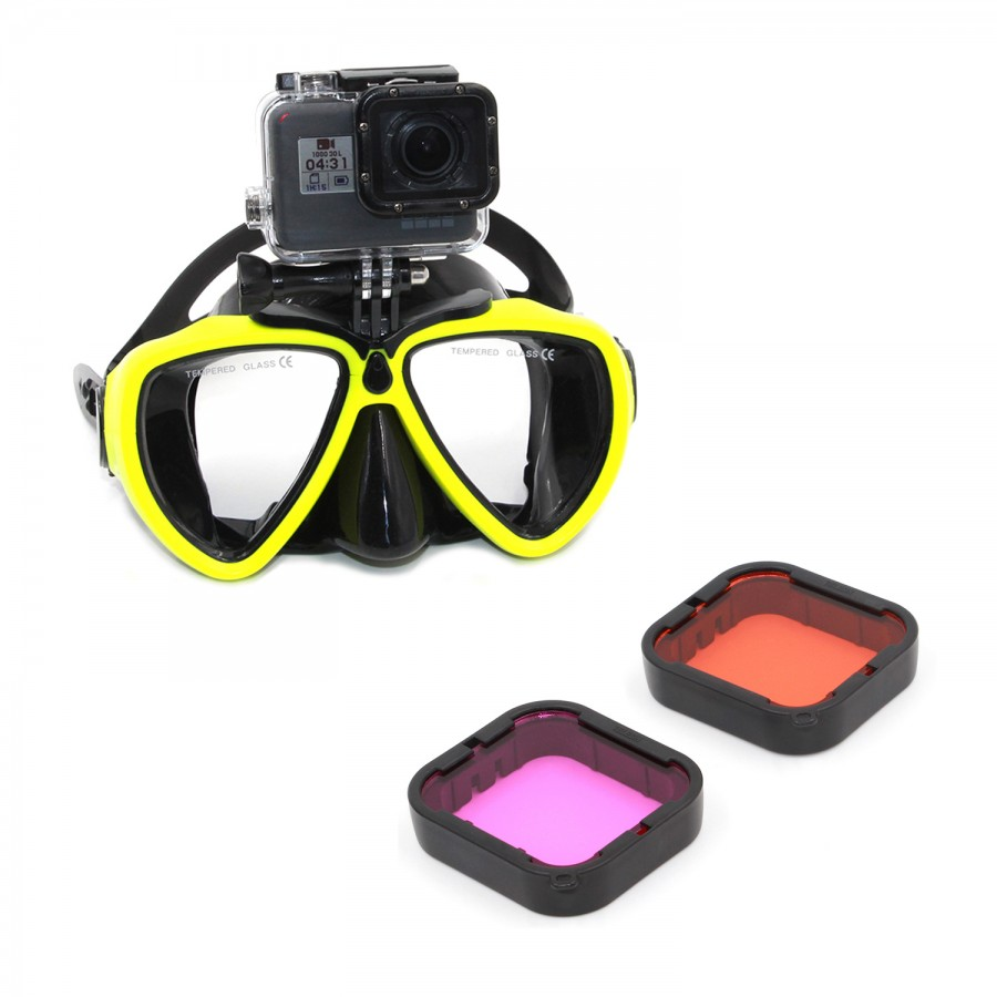 KIT BUCEO PARA GOPRO HERO 5/6 BLACK
