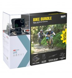 KIT CÁMARA AEE LYFE SILVER 4K + BIKE BUNDLE