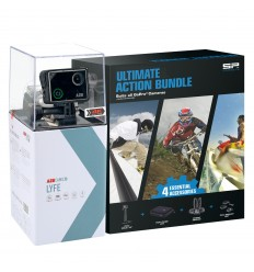 KIT CÁMARA AEE LYFE SILVER + SP ULTIMTE ACTION BUNDLE
