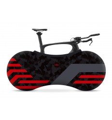 INDOOR BIKE COVER - RED LINES