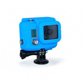 SILICONE COVER BLUE GOPRO HERO3+