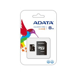 MEMORIA MICROSD 8 GB ADATA
