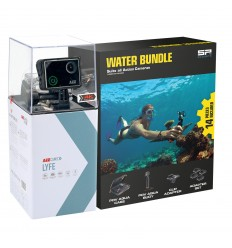 KIT CÁMARA AEE LYFE SILVER 4K + WATER BUNDLE