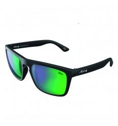 Anteojos de Sol Negro Cromo Verde