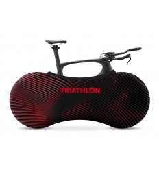 INDOOR BIKE COVER - NEON RED